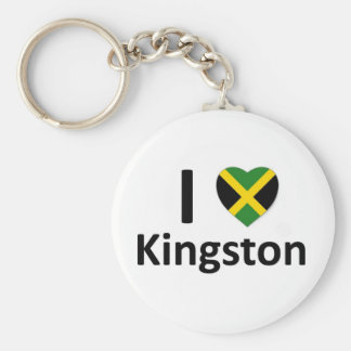 Iハートキングストン(ジャマイカ) キーホルダー
