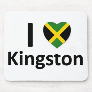 Iハートキングストン(ジャマイカ) マウスパッド