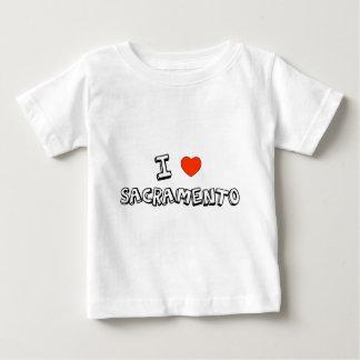 Iハートサクラメント ベビーTシャツ