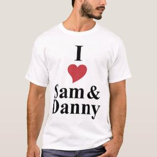 Iハートサム及びダニー Tシャツ