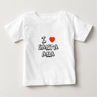 Iハートサンタ・アナ ベビーTシャツ
