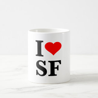 Iハートサンフランシスコ コーヒーマグカップ