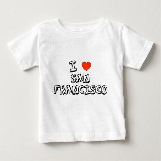 Iハートサンフランシスコ ベビーTシャツ