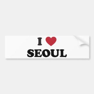 Iハートソウル南朝鮮 バンパーステッカー