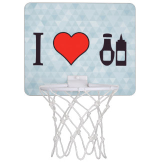 Iハートソース ミニバスケットボールゴール