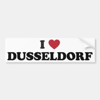 Iハートデュッセルドルフドイツ バンパーステッカー