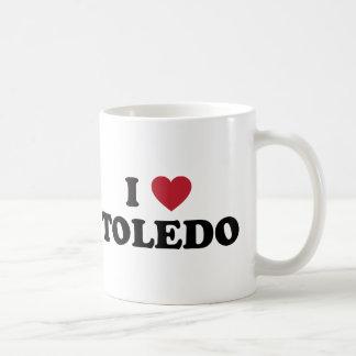 Iハートトレドオハイオ州 コーヒーマグカップ