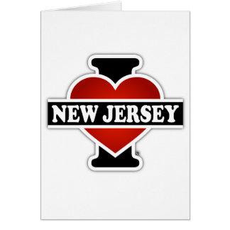 Iハートニュージャージー カード