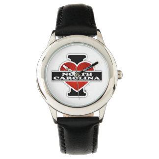 Iハートノースカロライナ 腕時計