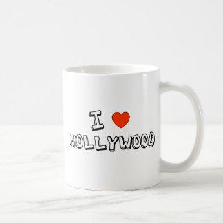 Iハートハリウッド コーヒーマグカップ