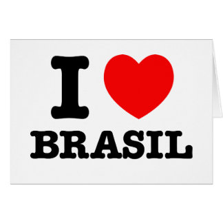 Iハートブラジル カード