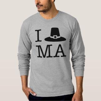 Iハートマサチューセッツ Tシャツ