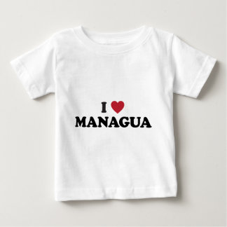 Iハートマナグアニカラグア ベビーTシャツ
