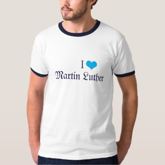 IハートマーティンLuther Tシャツ