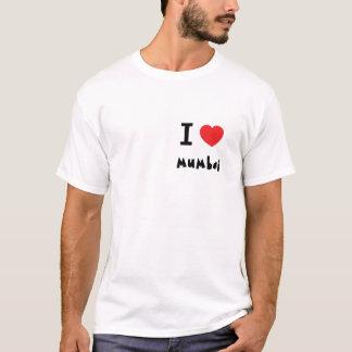 Iハートムンバイ/ボンベイ Tシャツ