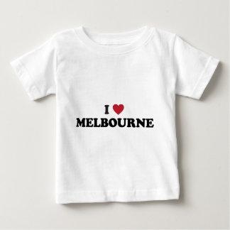 Iハートメルボルンオーストラリア ベビーTシャツ