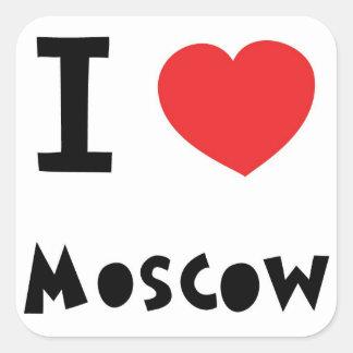 Iハートモスクワ スクエアシール