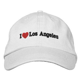Iハートロサンゼルスは帽子を刺繍しました 刺繍入りキャップ