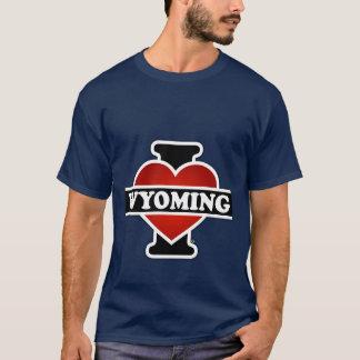 Iハートワイオミング Tシャツ