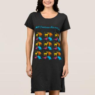 Iハート大きく、小さいすべての創造物 ドレス