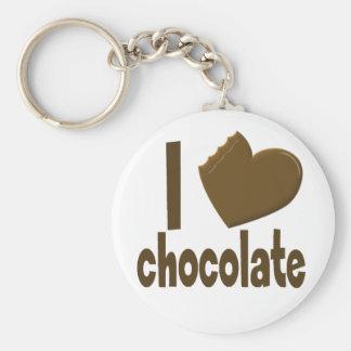 Iハート愛チョコレート キーホルダー