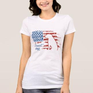 Iハート犬 Tシャツ