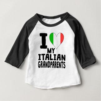 Iハート私のイタリアンな祖父母 ベビーTシャツ