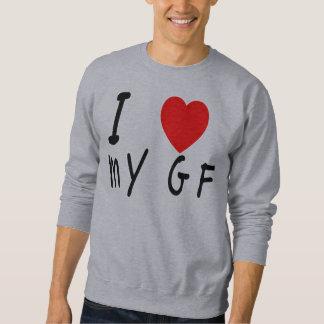 Iハート私のガールフレンド スウェットシャツ