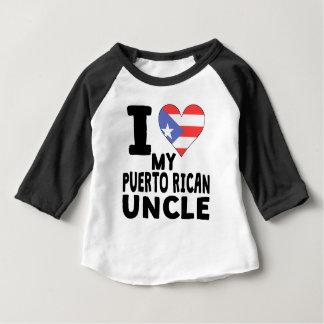 Iハート私のプエルトリコの叔父さん ベビーTシャツ