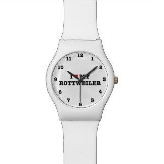 Iハート私のロットワイラーMay28thの腕時計 腕時計