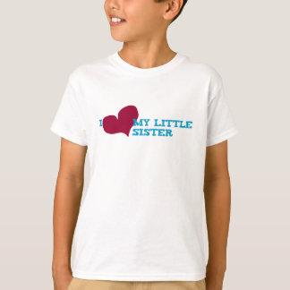 Iハート私の妹 Tシャツ