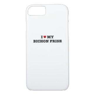 Iハート私のBichon FriseのiPhoneの場合 iPhone 8/7ケース