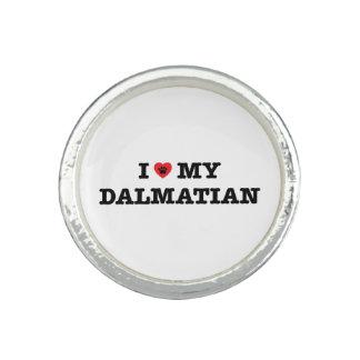 Iハート私のDalmatianリング 指輪