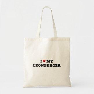 Iハート私のLeonbergerのトートバック トートバッグ