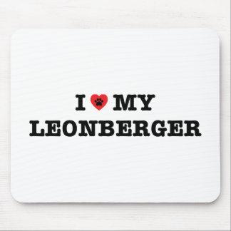 Iハート私のLeonbergerのマウスパッド マウスパッド