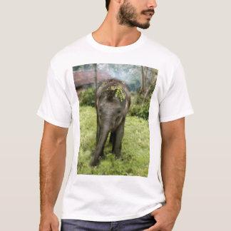 Iハート象のワイシャツ Tシャツ