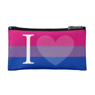 Iハート(両性のプライド)の小さいバッグ コスメティックバッグ