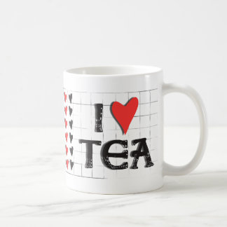 Iハート(愛)の茶 コーヒーマグカップ