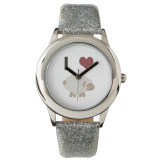 Iハート(愛)の雌ヒツジ() 腕時計