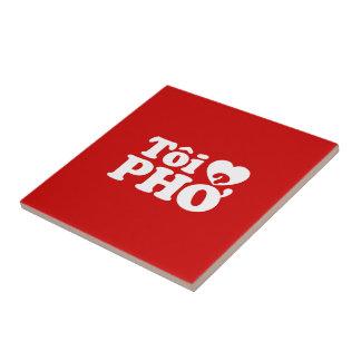 Iハート(愛)のPho (Tôiの❤ PHỞ)のベトナム語の言語 タイル