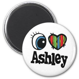 Iハート(愛) Ashley マグネット