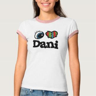 Iハート(愛) Dani Tシャツ