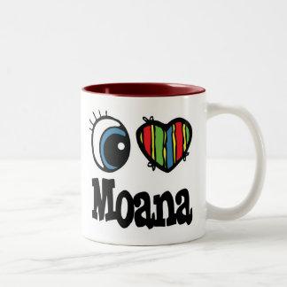 Iハート(愛) Moana ツートーンマグカップ
