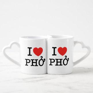 Iハート(愛) Pho ペアカップ
