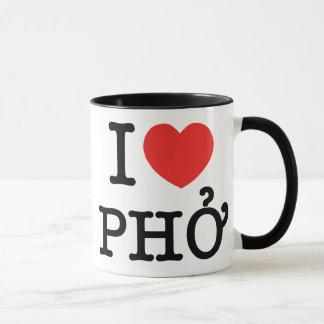 Iハート(愛) Pho マグカップ