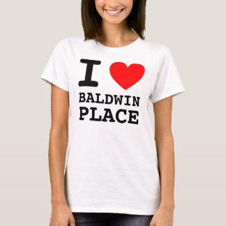 IハートBALDWINの場所 Tシャツ