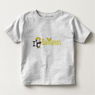 IハートBanans トドラーTシャツ