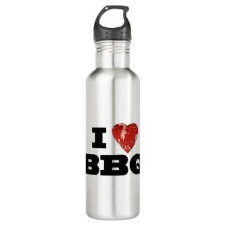 IハートBBQのおもしろいなビーフステーキのグリル ウォーターボトル