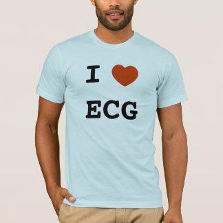 IハートECG Tシャツ