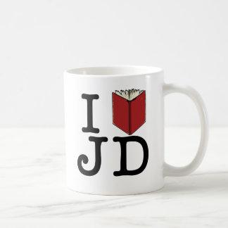 IハートJD コーヒーマグカップ